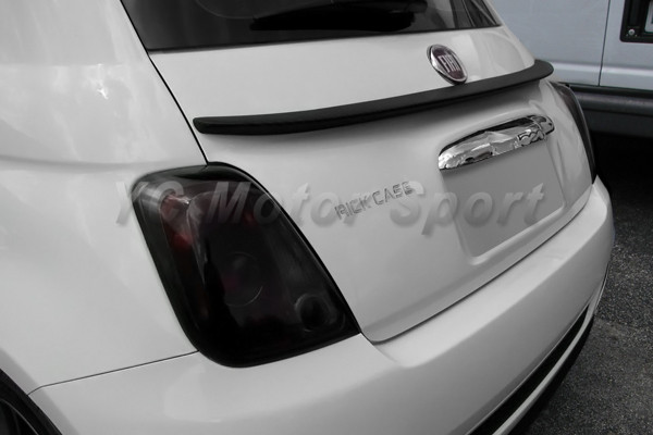 Car Accessories Carbon Fiber Lip Style Rear Spoiler Fit For 2007