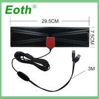 vhf uhf HD אנטנה טלוויזיה דיגיטלי טלוויזיה רדיוס אנטנות טלוויזיה Surf Antena טלוויזיה פוקס אוויר הפנים מגבר DVB-T2 / T UHF VHF אנטנה Eoth מקורה (5)