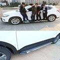 Diseño de Coches de alta Calidad Nuevo Estilo de la Llegada de Plata de Acero Inoxidable Estribo Side Paso Bares Aptos Para Peugeot 2008 Pedales 2015