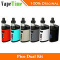 2017 nuevo pico doble tc vaping kit eleaf 200 w con pico de doble caja mod y vs istick eleaf melo 3 mini atomizador 2 ml pico mod 75 w