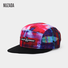 NUZADA Original Design 3D Printing Men Women Couple Baseball Cap Spring Summer Autumn Hats Quality Bone Snapback Caps(China)