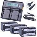3 шт. 7 4 В 5200 мАч BT-65Q BT 65Q литий-ионная батарея + Быстрый ЖК двойной зарядное устройство наборы для Topcon GTS 900 и GPT 9000 общая станция