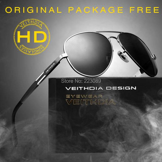VEITHDIA Aluminum Magnesium Alloy Brand Polarized Sunglasses Men Driving Sun Glasses Outdoor Accessories Sport Eyewear male 6695