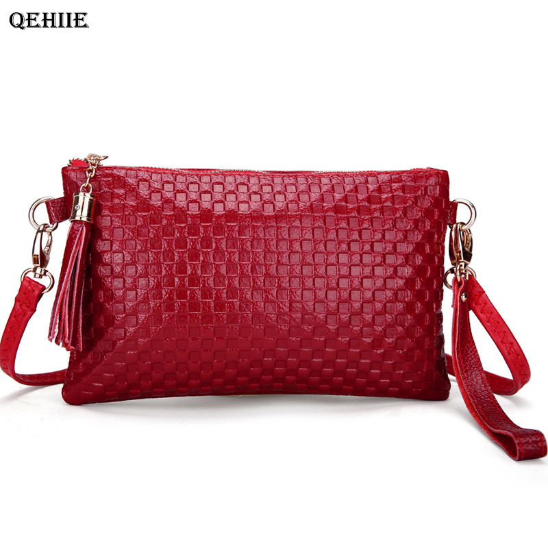 Luxury Handbags Women Bags Designer Fashion Leather Evening Bag Mobile <font><b>Phone</b></font> Shoulder Bag Young Girl Gift <font><b>Essential</b></font> Clutch Bags