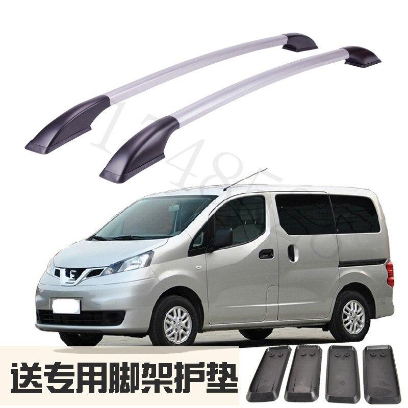 2019 Mode Auto Modellering Inbouwen De Imperiaal Van Aluminium Bagagerek Voor Nissan Nv200 Auto-onderdelen 2 M Uitverkoop Totale Korting 50-70%