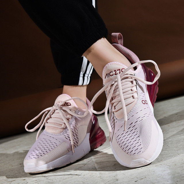 Sneakers Women 2019 New Light Weight Casual Shoes For Women Air Sole Breathable Zapatos De Mujer High Quality Couple Sport Shoe 2