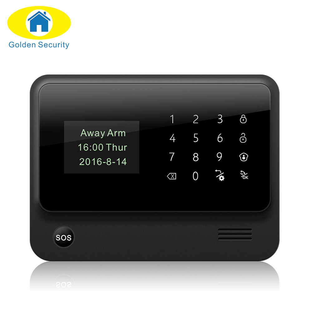2017 G90B-PLUS GSM Alarm System APP Remote Control Smart Home Intelligent GSM GPRS SMS Wifi Alarm System Security daytech gsm sms alarm kits home security system professional siren wireless gsm remote control intelligent two way intercom