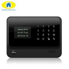 2017 G90B-PLUS GSM сигнализация Системы приложение Дистанционное управление Умный дом интеллектуальные GSM GPRS SMS Wi-Fi сигнал Системы безопасности
