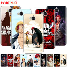HAMEINUO One Piece Shanks anime Red Hair Shanks phone Cover Case for huawei honor 3C 4X 4C 5C 5X 6 7 Y3 Y6 Y5 2 II Y560 2017(China)