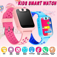 new Kids Smart watch LBS Smartwatches Baby Watch Children SOS Call Location Finder Locator Tracker Anti Lost Monitor Kids Gift 1 22 color screen smart gps lbs tracker location elder kids children sos call anti lost remote monitor wristwatch watch pk t58