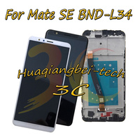 5.93'' New For Huawei Mate SE BND L34 Full LCD DIsplay + Touch Screen Digitizer Assembly With Frame 100% Tested With Tracking