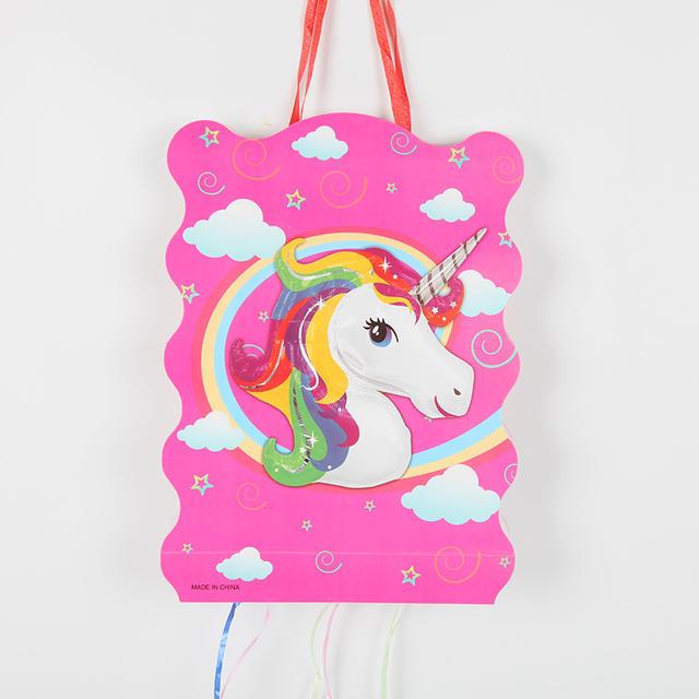 Unicorn Paper Folding Piñata