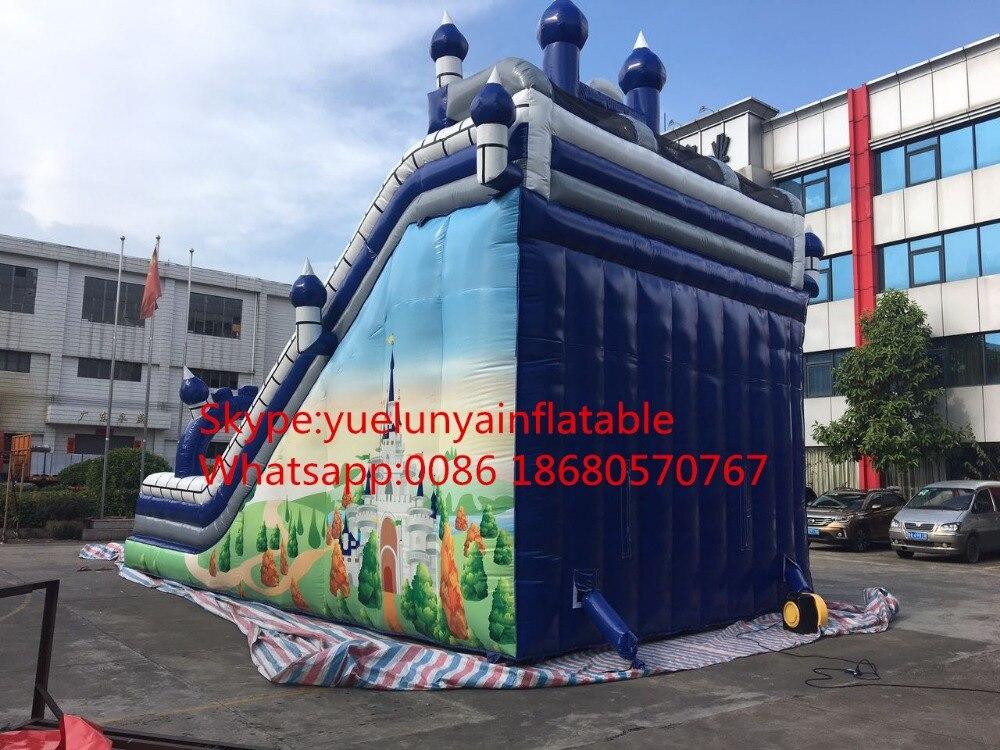 2016 nueva diapositiva inflable directa de la fábrica, diapositivas - Deportes y aire libre - foto 5