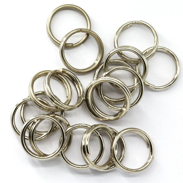 100Pcs Stainless Steel Split Rings for Blank Lures Crank bait Hard Bait carp Fishing Tools Double Loop 6mm 7mm 8mm штатив benro t 800ex