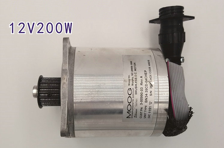 12v 24v 1600 3500rpm 200w Brushless Dc Dc Servo Motors