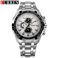 Curren Watch Men Military Relogio Masculino Quartz Watch Mens Watches Top Brand Luxury Sport Wristwatch Mens