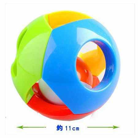 FlyingTown 0-12 Months Baby Rattling Toy Baby Ball Toy Rattles Develop Baby Intelligence Baby Toys Plastic Hand Bell Rattle