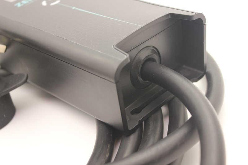 BS UK 3 دبوس التوصيل نوع 1 الأبيض sae j1772 8A 10A ev وضع الشحن 2 EVSE 5 متر كابل شاحن السيارة الكهربائي ل ورقة