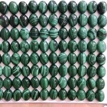 100% натуральный aa качество Малахитовый драгоценные камни бусины