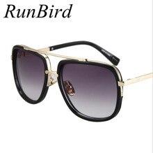 High-Quality Luxury Gradient Lens Sunglasses Men Women Brand Designer Sun Glasses Retro Eyewear Oculos De Sol Masculino R197
