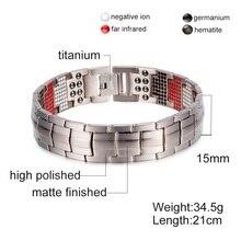 Pulseira Magnética Bio Energética de Titânio – Pulseira do Equilíbrio