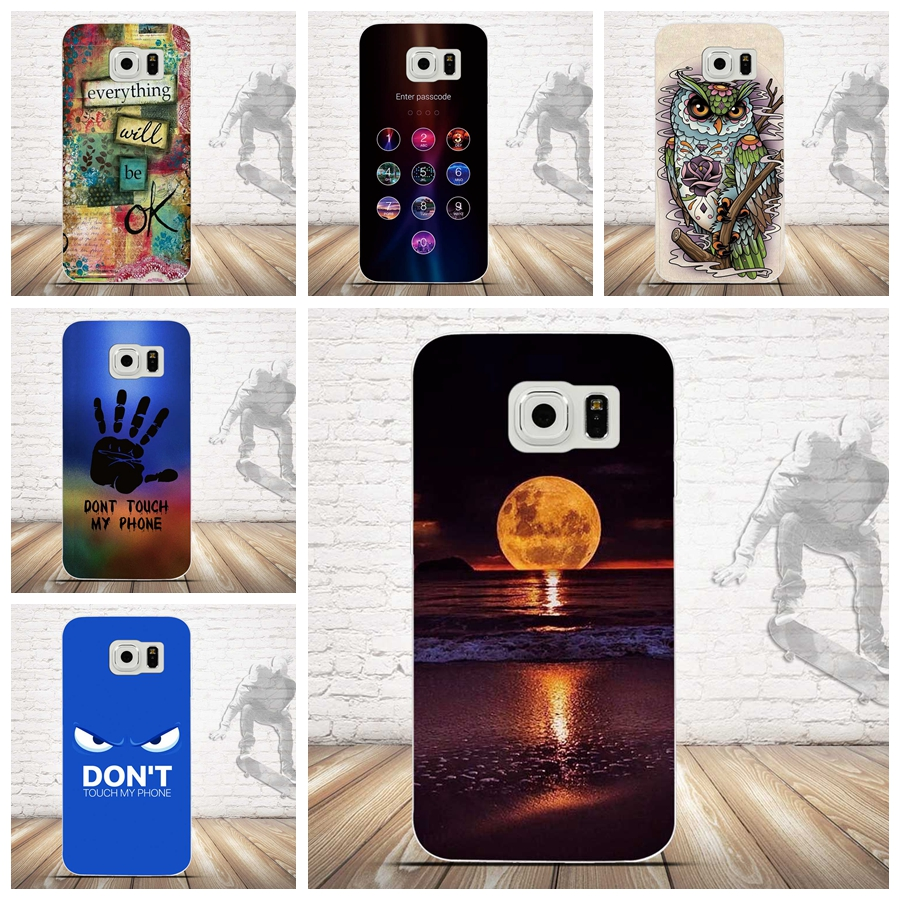 Phone Case for Samsung Galaxy S6 S 6 Case Coque Soft Silicone TPU Luxury Case Cack Cover for Samsung S6 Galaxy S6 Fundas Capas