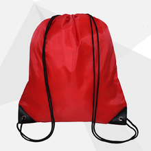 Halloween Drawstring Backpack Satin Drawstring Bag Waterproof Backpack Packaging Sack Bags for Women