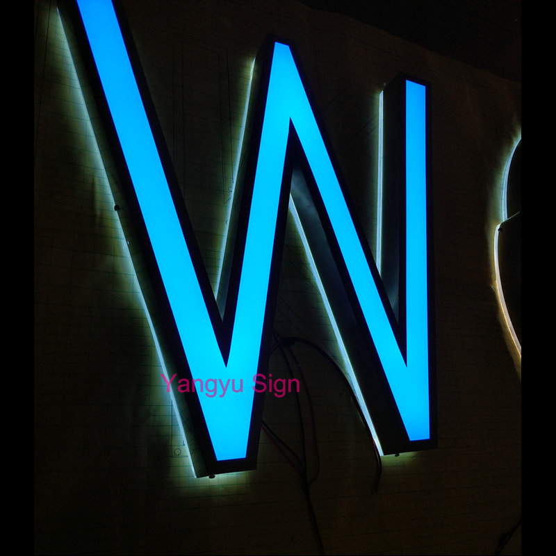 Outdoor custom led Illuminated sign letters
