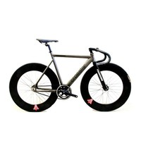Fixed Gear Bike Fixie Bike Frame DIY Muscular Frame Bicicleta Road Bike Aluminum Alloy Frame Fixie
