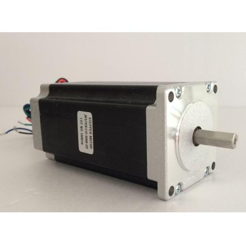 Nema23 Stepper Motor 57HS112-4204 3N.m 4.2A 4Lead Nema 23 motor 428 Oz-in for 3D printer for CNC engraving millNema23 Stepper Motor 57HS112-4204 3N.m 4.2A 4Lead Nema 23 motor 428 Oz-in for 3D printer for CNC engraving mill