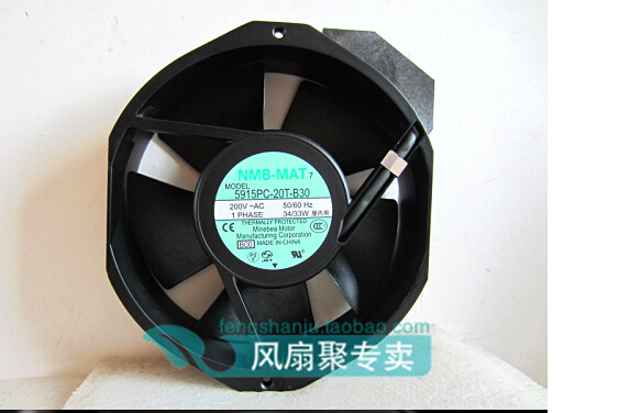 Hundred percent of the original NMB-MAT 17CM17238 200V5915PC-20T-B30 150MM*172MM*38MM converter cooling fan mrf315a hundred percent genuine kwcdz