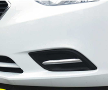 2/4pcs ABS For Chevrolet 3 Sail 2015-2016 Fog lamp frame trim Decorative sticker