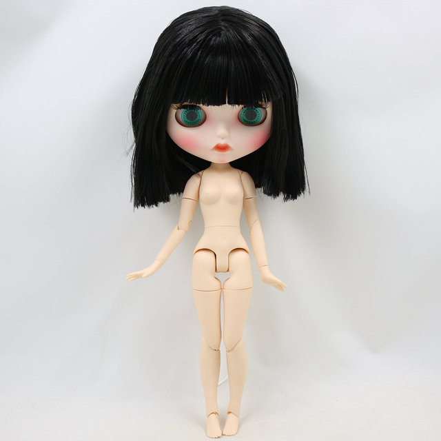 ICY Neo Blyth Doll Black Hair Jointed Body 30cm