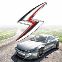 Mayitr 3d автомобиль молния S металлическая эмблема и установка значки для Nissan S14 S15 Автомобиль Стайлинг Авто экстерьер Стикеры высокое качество