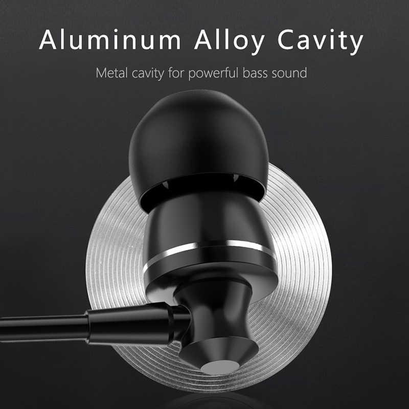 3.5 مللي متر سماعة أذن رياضية العميق باس سماعة سلكية إلغاء الضوضاء مع ميكروفون سماعة الألعاب لهواوي فون Xiaomi سامسونج