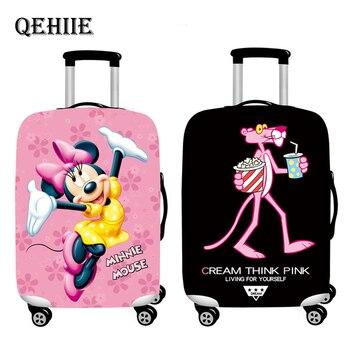 a5b5a788a Nuevo dibujos animados equipaje cubierta elástico cubiertas protectoras  18-32 pulgadas carro maletero polvo de la cubierta de la Caja accesorios de  viaje ...