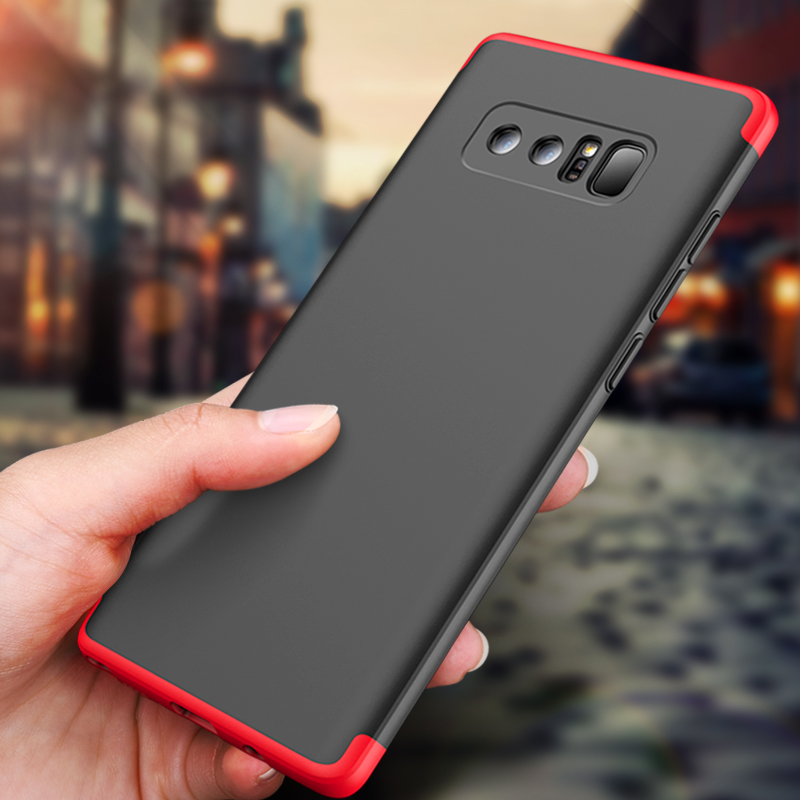 cheap for discount 1600b 87d26 US $3.64 27% OFF|GKK Original Case for Samsung Galaxy note 8 Case Armor 360  Full Protection Hard Hybrid PC 6.3