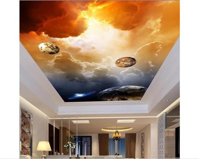 Dostosowane 3d Fototapeta 3d Sciany Sufitu Murale Tapety Wszechswiat