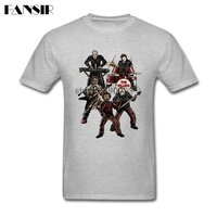 Rock Tee Shirt Men S Death Metal Horror Movie Jason Men T Shirt 100 Cotton Short