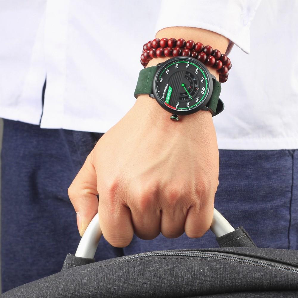HTB1UdphPXXXXXaIXVXXq6xXFXXXO TOMORO Men's Unique Racing Car 3D Design Wrist Watch