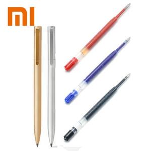 Original Xiaomi Mijia Metal Sign Pens PREMEC Smooth Switzerland Refill 0.5mm Signing Pens Mi Aluminum Metal Alloy Pens