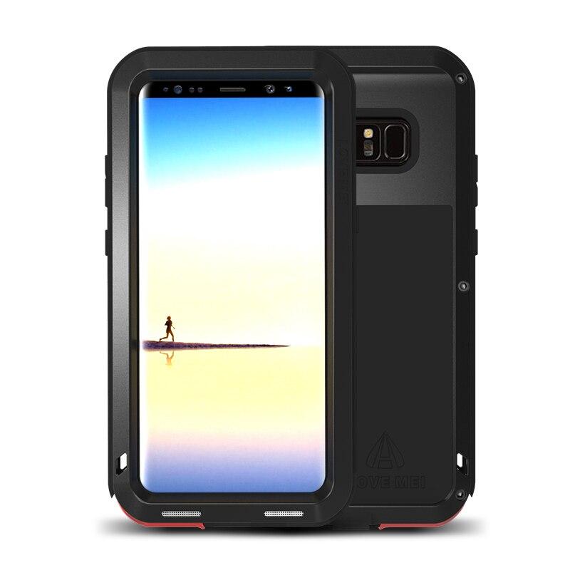 Boîtier de protection hybride blindé boîtier étanche Fundas boîtier étanche à l'eau/saleté/choc/pluie pour Samsung Galaxy Note 8 N9500