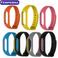 Newest Replace Strap for Xiaomi Mi Band 2 MiBand 2 Silicone Wristbands Colorful Double Color Smart Bracelet for Xiomi Mi Band 2