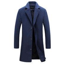 Tweed mantel heren