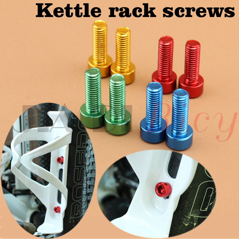 Alloy Bolt Cycling Fixed Gear Tool Bike Cage Holder Repair Bicycle Bottle Screw