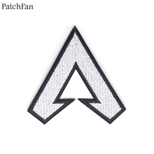 Patchfan APEX legends applique patches diy iron on para jeans bag shirt clothes jersey punk stickers embroideried badges A1745