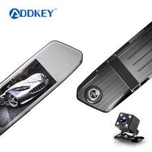Автомобильный видеорегистратор ADDKEY D820S, Паровая зеркальная камера заднего вида, 7 ips, сенсорный экран, Full HD 1080 P, Автомобильный видеорегистратор, видеорегистратор, видеорегистратор