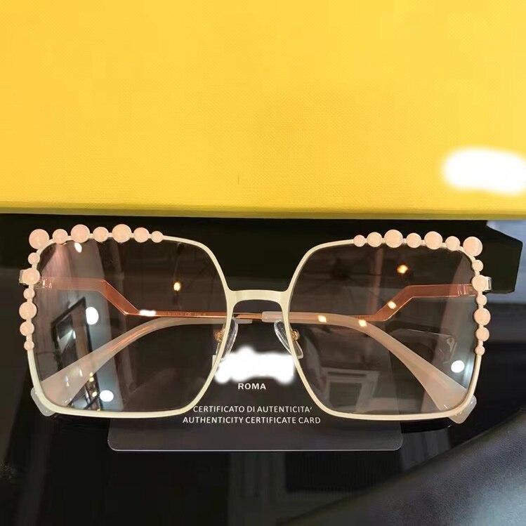 Luxus Designer Marke Y0909 6 5 Für 2018 Runway 1 Sonnenbrille 2 7 4 Gläser Frauen 3 Carter HXnwdwzA