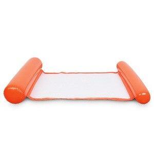 Image 3 - Надувной лежак для бассейна, надувной лежак с плавающей водой, летняя игрушка, надувной лежак, 2019