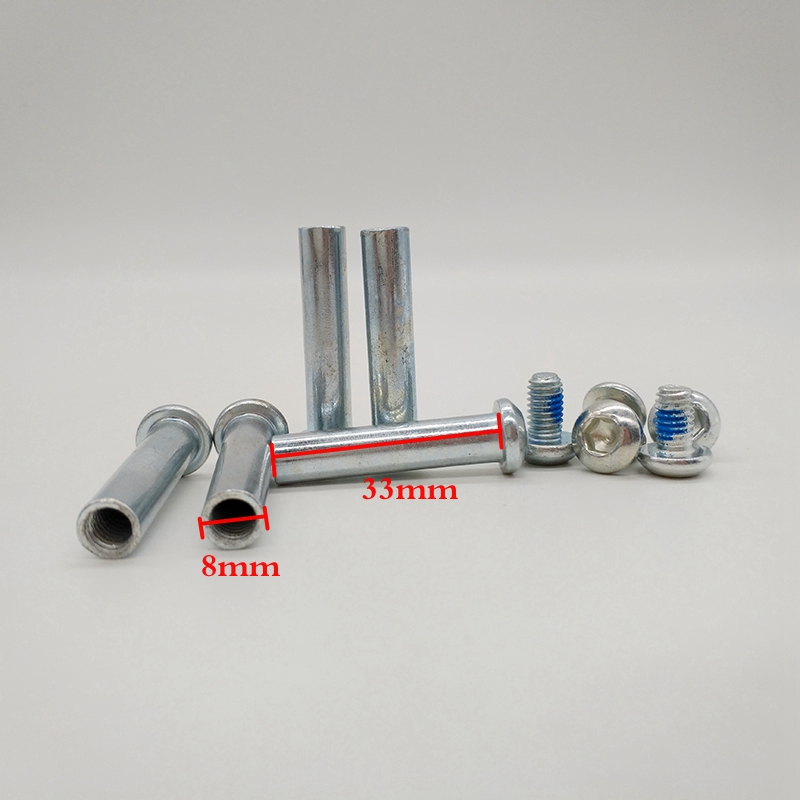 Free Shipping Roller Skates Parts Axles 8*33 Mm